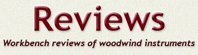 Review section title header