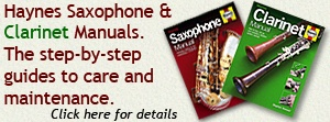 Haynes Saxophone and Clarinet Manuals